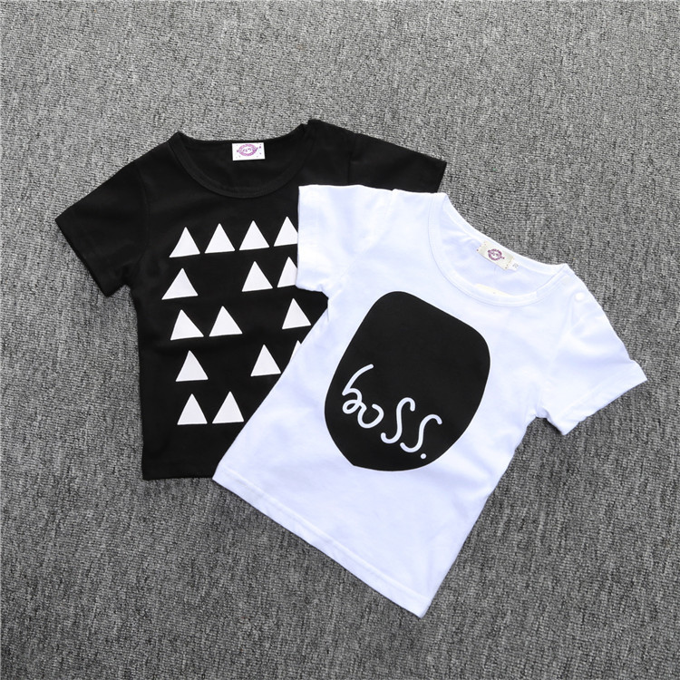 Hot Sale Children Cotton Cool Short Sleeves T-shirt Kids Baby Baseball Raglan Tops Fall And Summer Tops