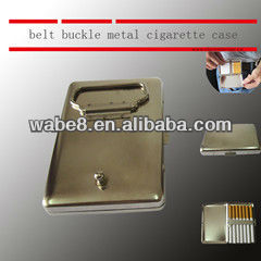 belt buckle style cigarette case , new style novely cigarette case new design cigarette box