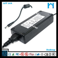 12v cctv power supply au type adpater dc regulated power supply 10A 120W