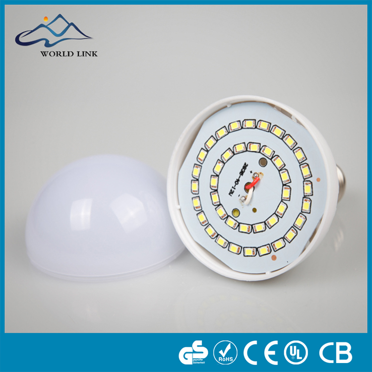 Energy saving remote rechargeable e27 B22 3W 5W 7W 9W 12W light led bulb