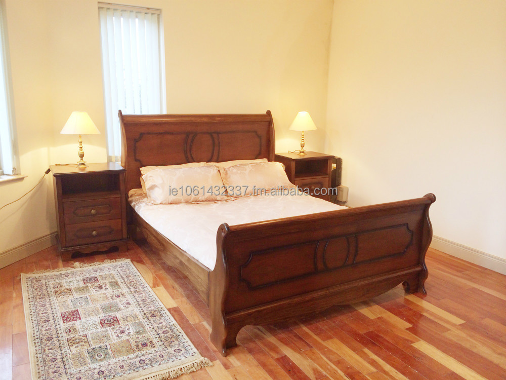 Sleigh Bed - Bedroom Set