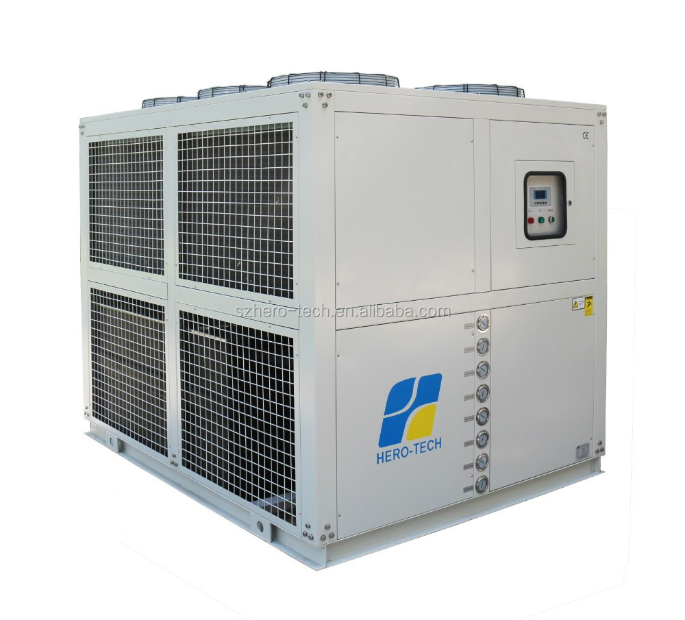 high quality low price scroll compressor air cooled water chiller for extruder with CE