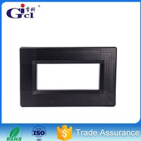 Gicl 70100A black anodized applicable to SMD full color indoor semioutdoor led display led screen aluminum profiles