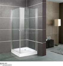 Low price high quality aluminum hotel shower room