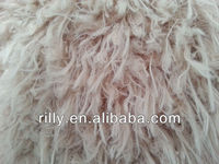 100% polyester plush, faux fur, plush fabric