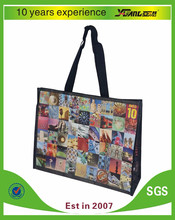 Factory made new promotional pp laminated non woven tote shopping bag