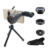 Universal 3 in 1 0.63X wide angle 15X macro fisheye telephoto zoom lens for mobile phone camera