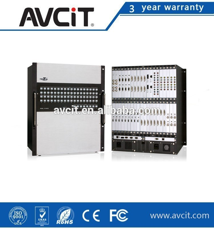 AV integrator audio and visual matrix box 36*36