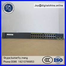 Original New! Cisco WS-C2960-24LC-S CISCO 24 Port Layer 2 Ethernet Switch with 8 port PoE
