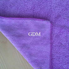 80% polyester 20% polyamide microfiber towels for car washing