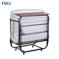 spring mattress roll away single cot beds for hotels