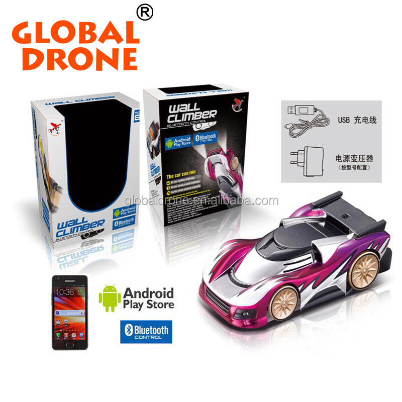FY838 Bluetooth Driver Android / Iphone Controller Intelligent Stunt Wall Climbing RC Car