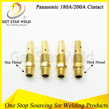 180A mig welding torch contact tip adaptor