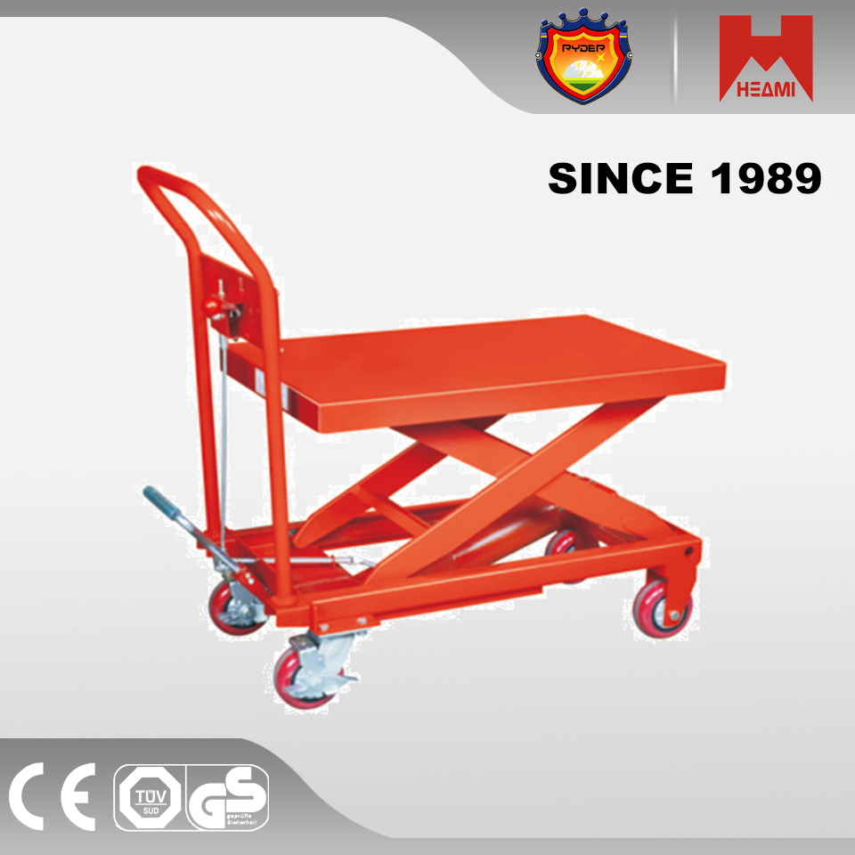 HEAMI Hydraulic Lifting Table hydraulic scissor table lift work table for lift equipment