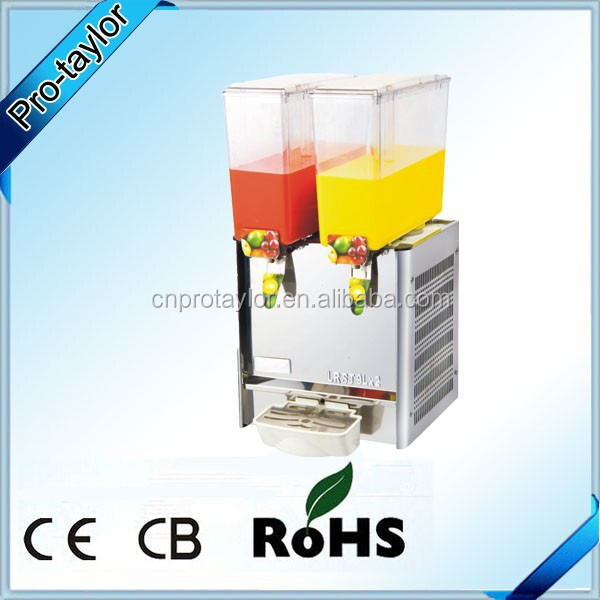 Popular double tanks 9L beverage dispenser for sale