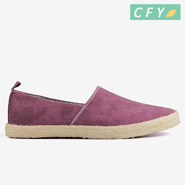 2018 hot sale new arriving style men purple color casual shoes slip on