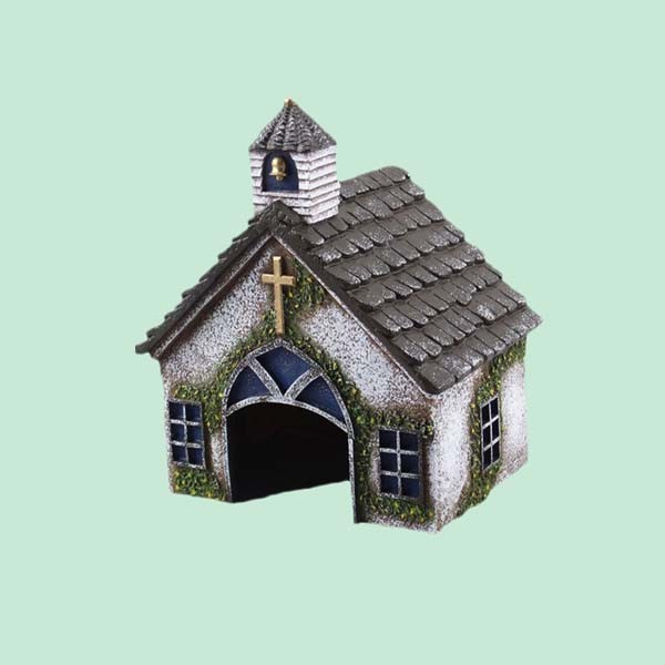 cheap custom vivid beautiful religion garden toad house