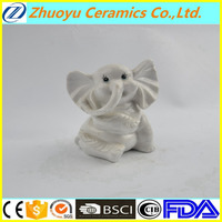 Cute ceramic baby elephant for decoration