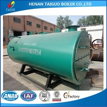 4t/h fire tube gas/oil fired steam boiler price