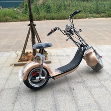 2017 hot selling 18*9.5 tyre citycoco / adult citycoco mobility scooter / fat tyre electric citycoco scooter