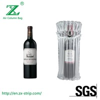 Air Column Bag or Bubble Wrap for Wine Bottle Air Inflatable Bag