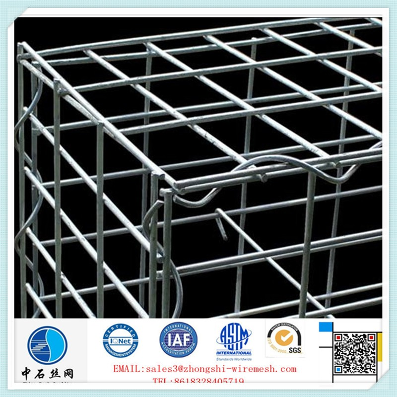 Galvanized Hesco Barrier for protection (Mil1 - Mil10)