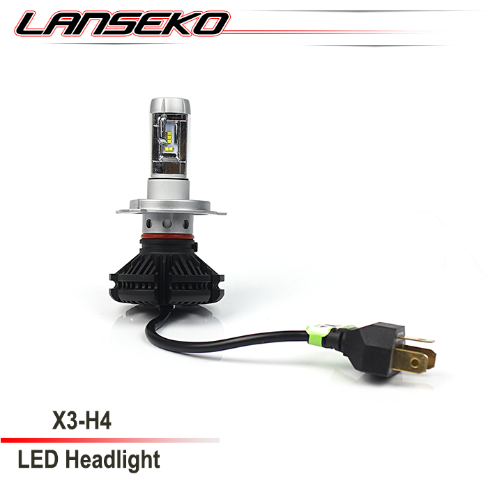 Motorcycle led headlight h4 with high brightness , car led light h7 h10 h11 9005 9006 9012 psx24 psx26 p13