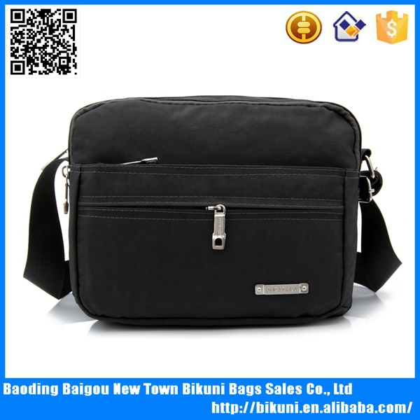 2015 classic nylon notebook bags, shoulder laptop waterproof briefcase for men