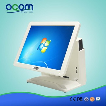 """Hot 15"""" All in One Touch Screen POS Terminal / POS System /Touch PC / All in One PC(POS8618)"""