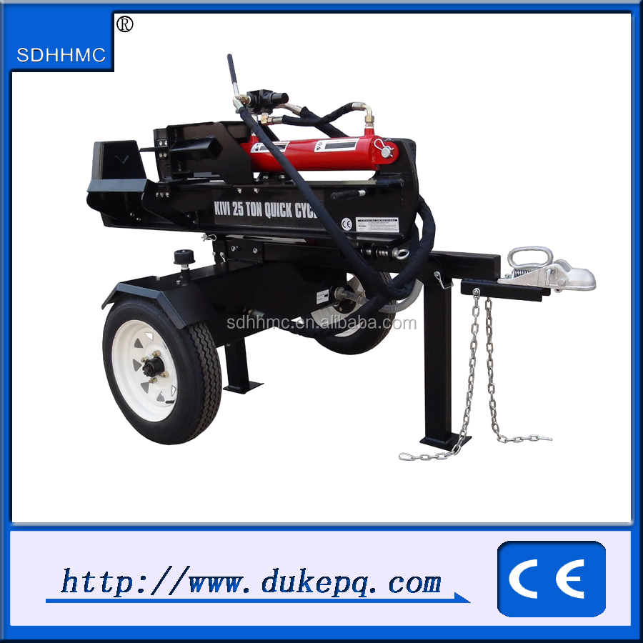 Toq Quality 20Ton Hydraulic Gasoline Engine Driven Log Splitter For Tractor