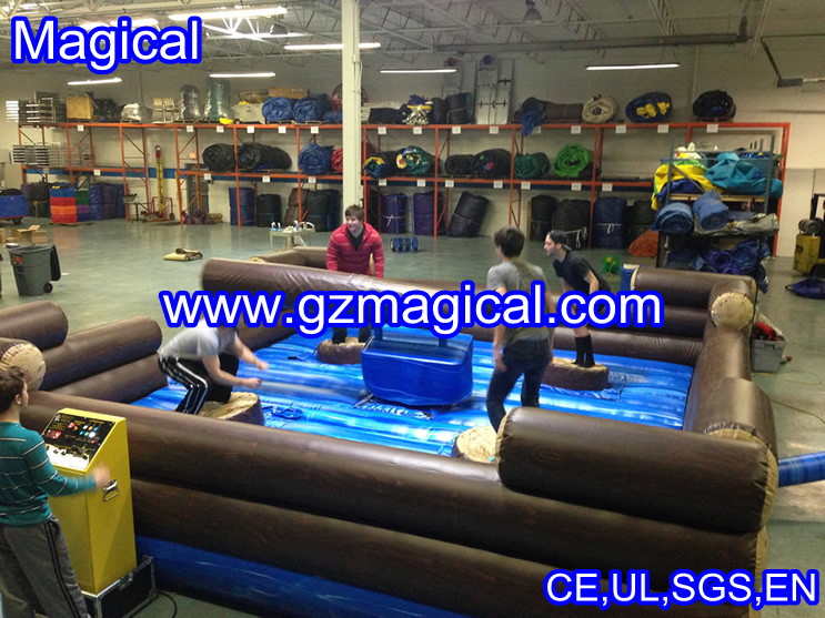 indoor sport game Gladiator Joust ring Inflatable for stadium