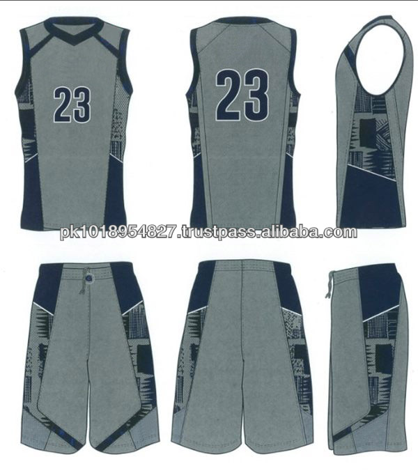 European 2013 new design cheap youth sublimation basketball uniform