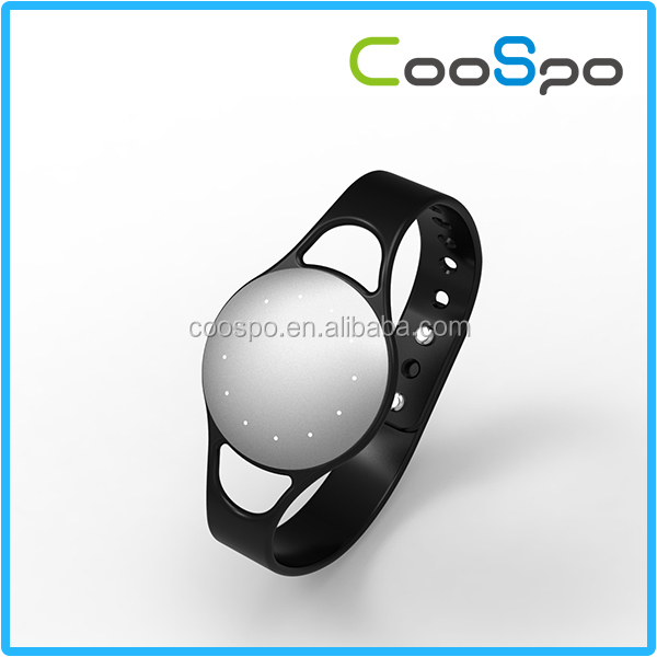 Coospo Bluetooth Bracelet Pedometer Professional Fitness Pulse Watch
