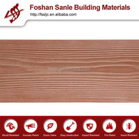 UV resistant Wood texture Siding Board outside wall decoration