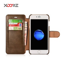 2017 PU Leather Wallet Case for iPhone 7 7 Plus with Magnetic,for iPhone7 7Plus Wallet Case
