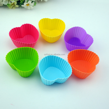 DIY homemade mini muffin cup silicone cake molds