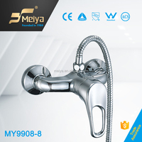 Chrome Plating Single Lever Brass Bathroom Shower Faucet