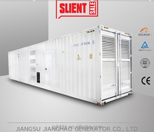 supply 1000kw containerized silent electric generator 1mw generator