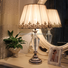 New Europe style high quality crystal chandelier table lamp