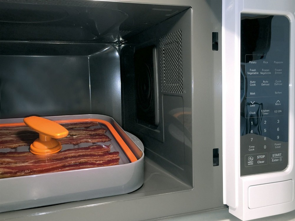 Microwave Bacon Cooker for Healthier