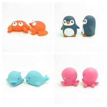 PVC Customized Floating Animals Baby Bath Toys