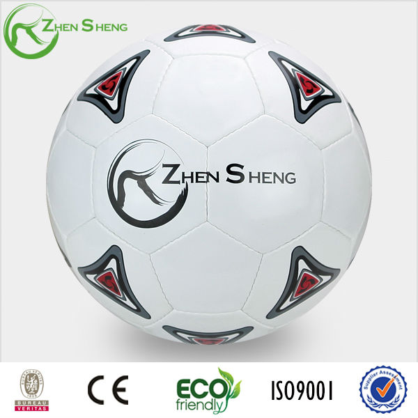 Zhensheng deflated pvc cheap training soccer ball