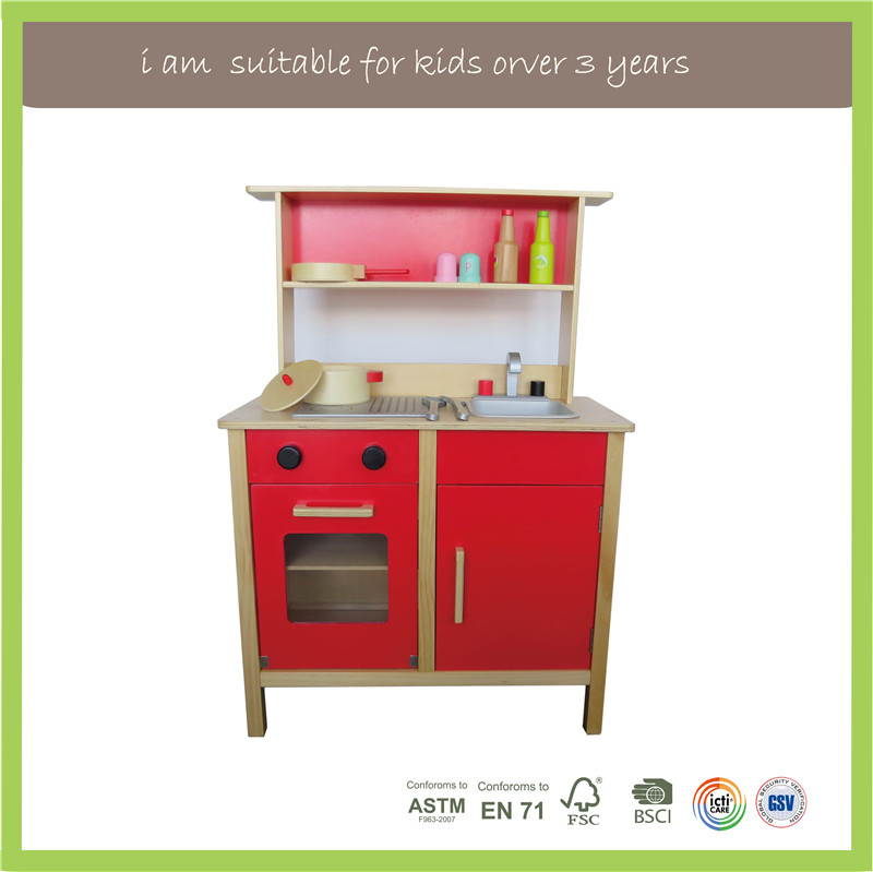 Children Play New Design Kids Craft Primary Wooden Kitchen