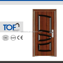 Main Entrance Exterior Cheap High Quality Steel Grill Door Design