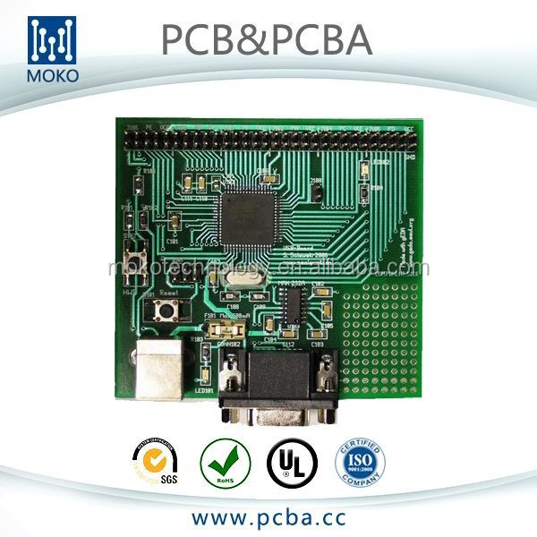 4 layer gps tracking pcb assembly