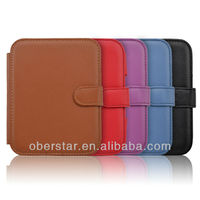New Litchi Grain PU Leather Holster Cover Case For Nook Simple Touch