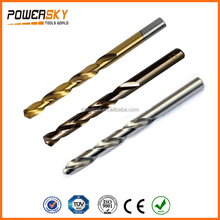 POWERSKY Tools fully ground drill bits for metal