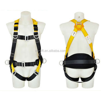 Full Body Safety Harness-with 5D Ring