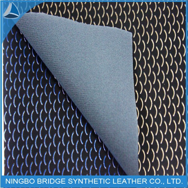 The Pretty And Popular Product PU Leather Fabric For Plat Shoes