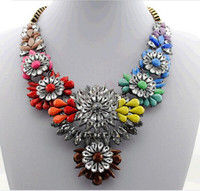 Jewelry factory hot sale 2014 statement necklace